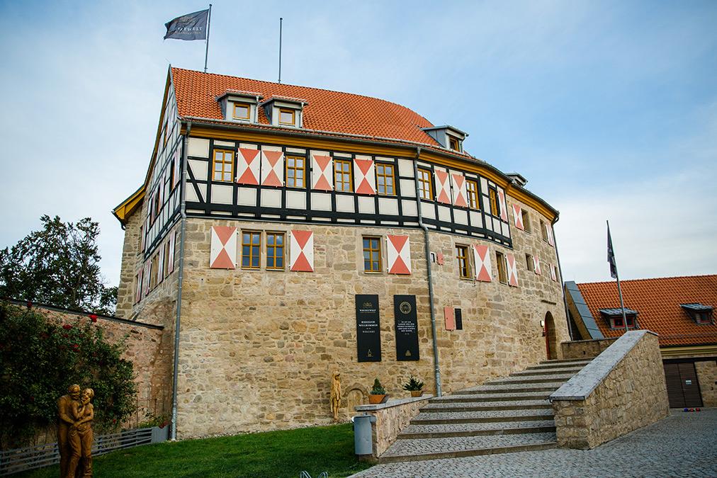 Die Burg Scharfenstein in Leinefelde